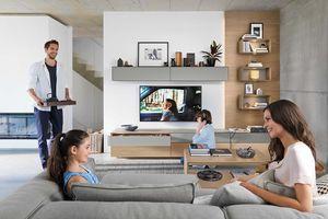 Design Wohnwand cubus pure mit Gestaltungselementen