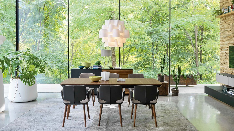 Tavolo flaye di TEAM 7 del designer Jacob Strobel