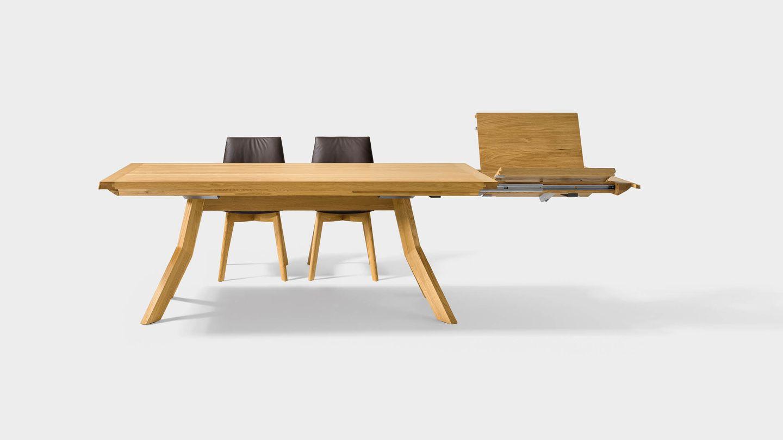 Table extensible yps en chêne