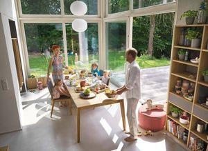 Table extensible mylon pour la salle à manger