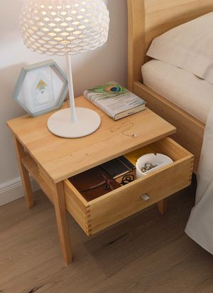 sesam bedside cabinet made of solid wood