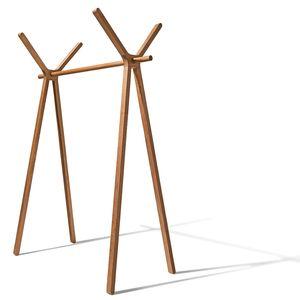 Вешалка для одежды hood+ из массива дерева от TEAM 7
