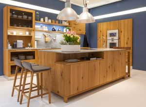loft kitchen in wild oak at TEAM 7 Wels