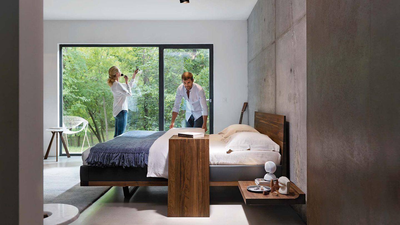 TEAM 7 riletto Bett von Designer Kai Stania