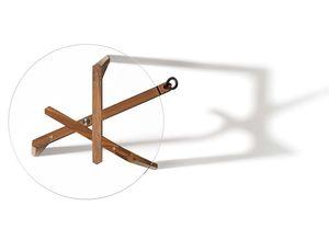 Tavolino hi! con stabile incastro a mezzo legno alla base