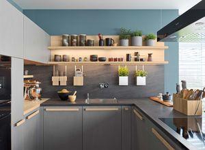 Küche cera line mit Keramik