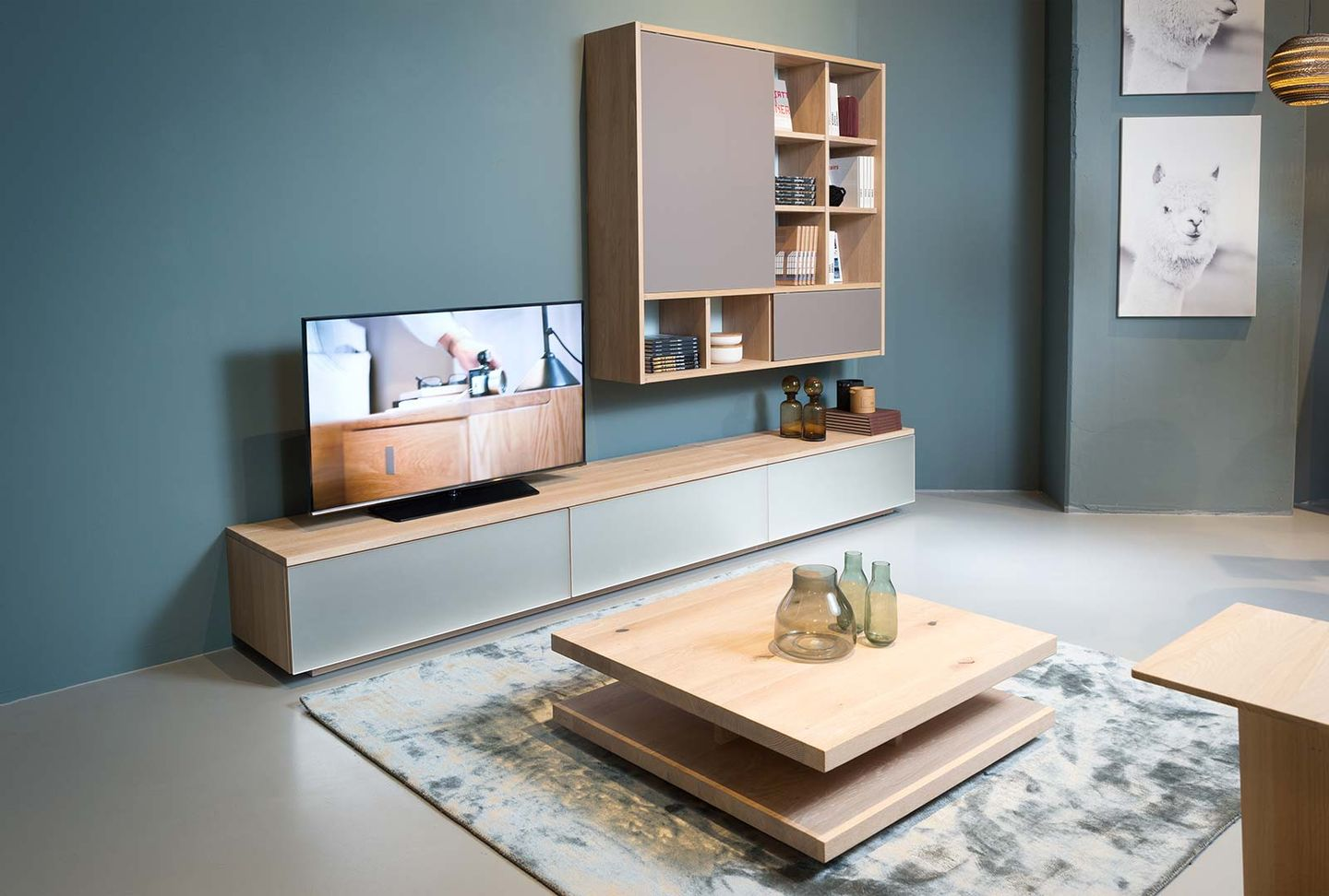 cubus wall unit TEAM 7 Hamburg City