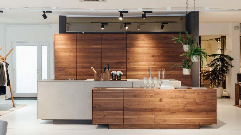 filigno kitchen in walnut TEAM 7 Linz
