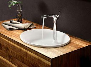 Salle de bain Lignatur en noyer, lavabo