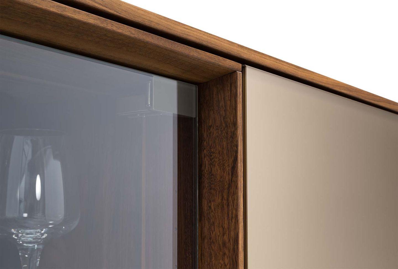 Complemento filigno in legno massello con elegante rivestimento