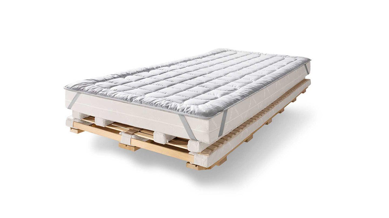 Unterbett aus Schafschurwolle für aos Schlafsystem
