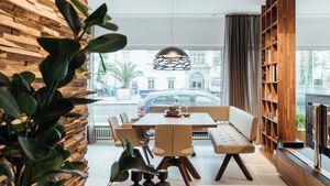 yps corner seat in walnut TEAM 7 Linz