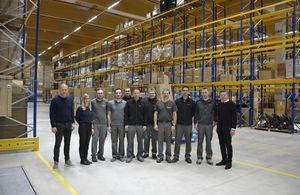 Logistikzentrum Pram Eröffnung TEAM 7