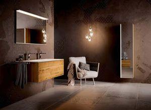 Salle de bain Lignatur en chêne vénitien