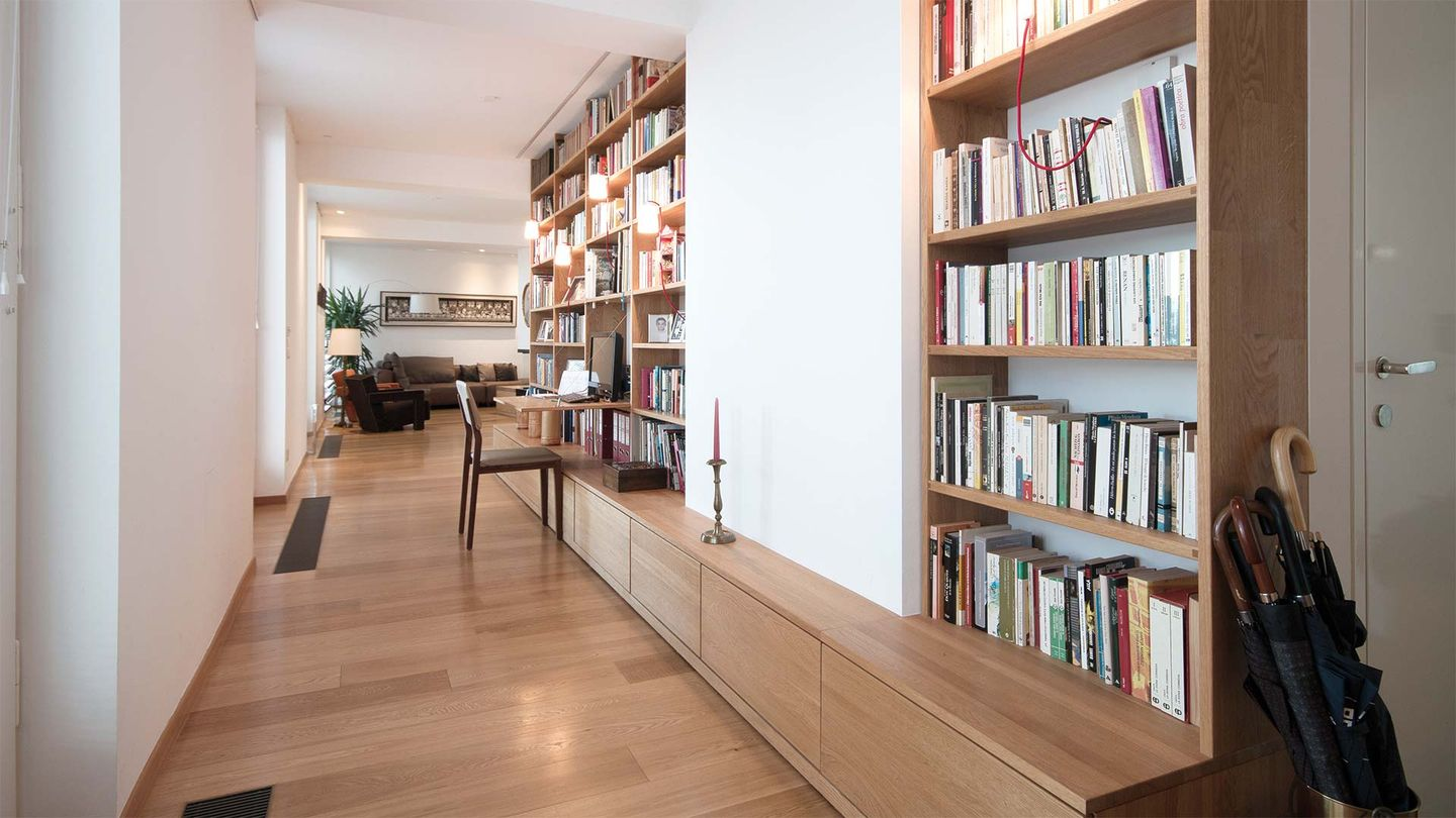 TEAM 7 solid wood furniture in a private apartment