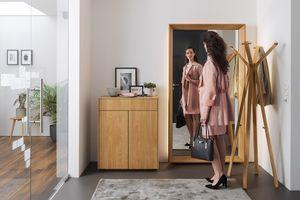 Diele haiku mit Spiegel, Garderobe und Schuhschrank