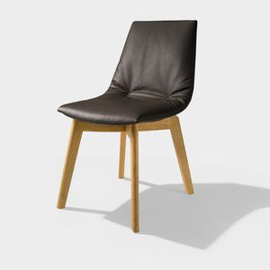 TEAM 7 lui chaise, noir brun
