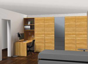 WohnofficeT7 Typ 2 - Blickrichtung Wand: Planungsbeispiel