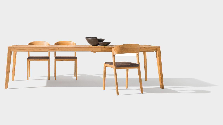 table de salle à manger mylon en bois naturel