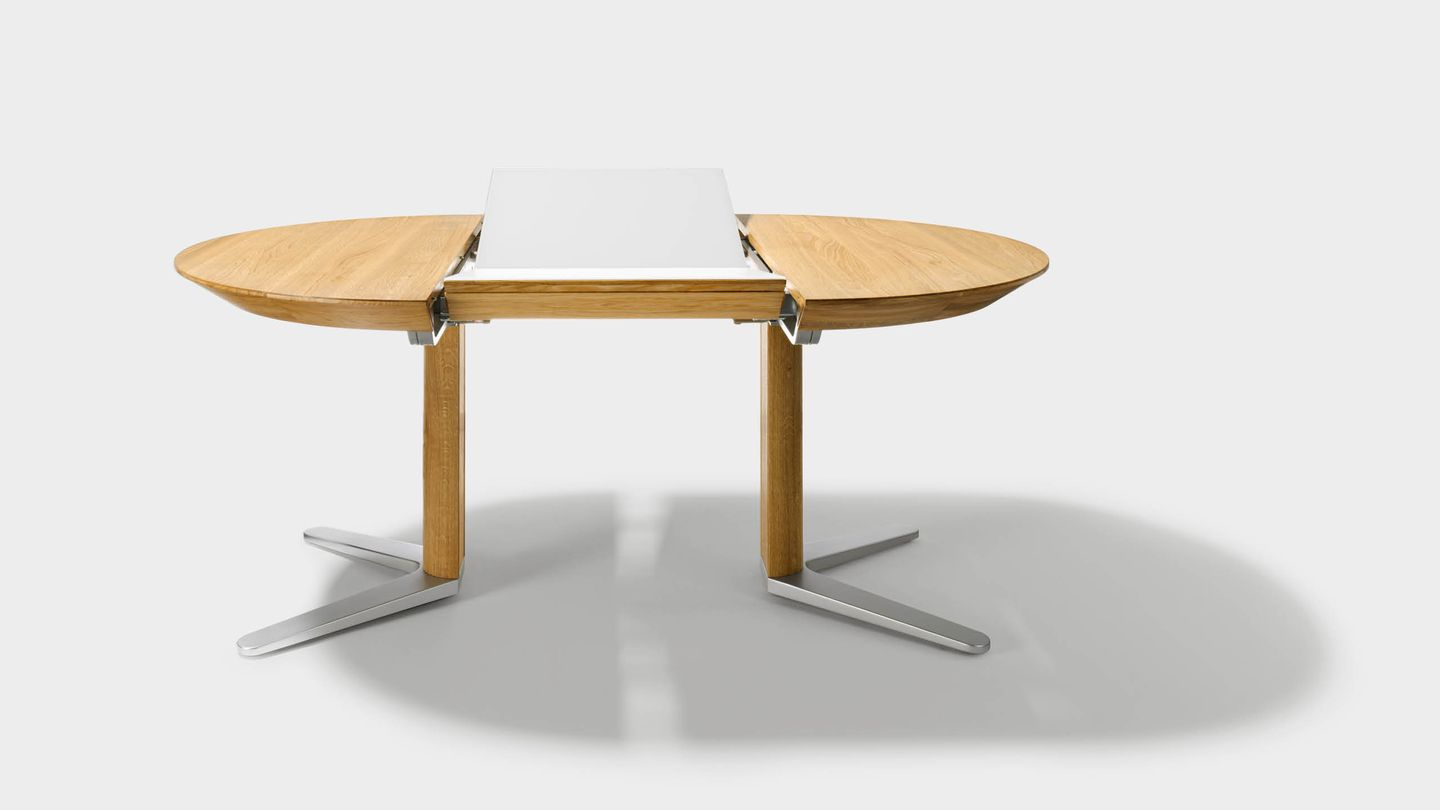 girado extendable table with 2soft extension technology
