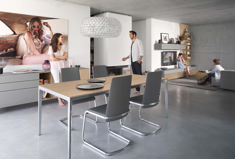 """Раздвижной стол """"tak"""" для обеденной комнаты"""