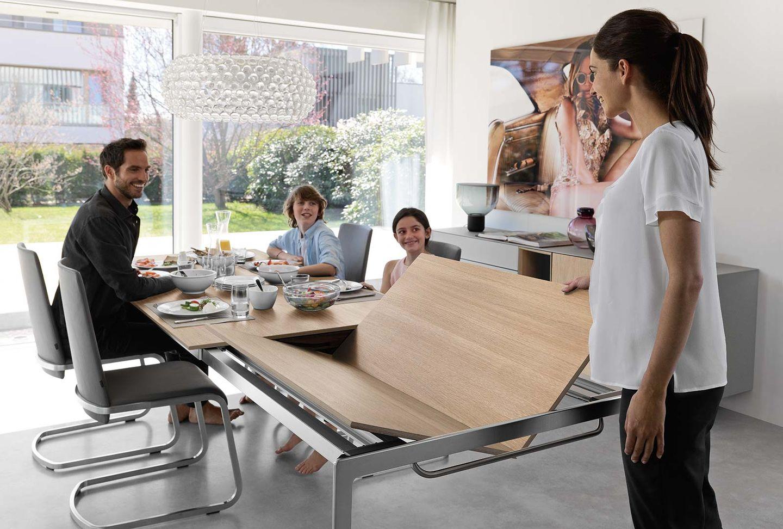 tak designer dining table extendable