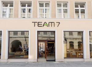 Store Außenansicht von TEAM 7 München