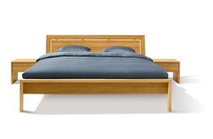 Holzbett lunetto aus Naturholz von TEAM 7