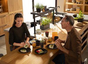 Kücheninsel der echt.zeit Naturholzküche
