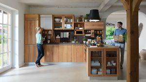 """Кухня """"rondo"""" из массива букового дерева"""