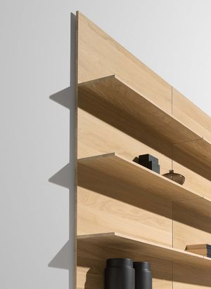 filigno wall shelves for the kitchen in oak white oil