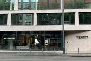 Außenansicht des TEAM 7 Stores in Frankfurt.