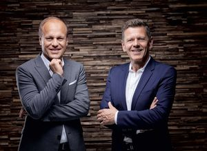 Managing Directors of TEAM 7 Hermann Pretzl and Georg Emprechtinger