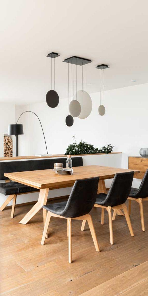 yps Tisch und Bank mit lui Stühlen von TEAM 7 Düsseldorf