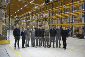 New TEAM 7 logistics centre opens