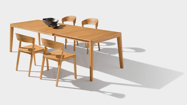 Раздвижной стол mylon из массива дерева