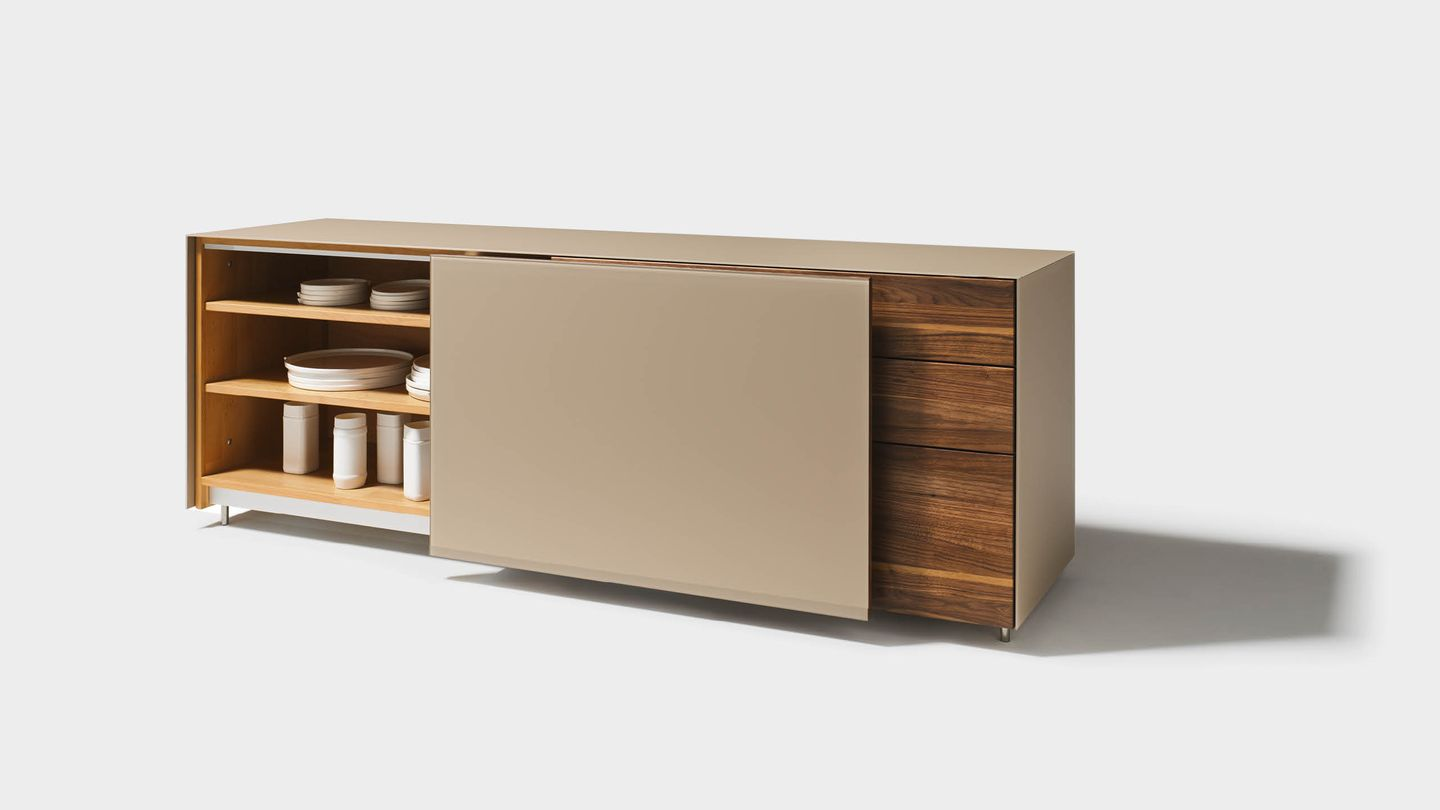 cubus pure sideboard with sliding door