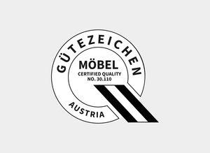 TEAM 7 certifié par le logo Austria
