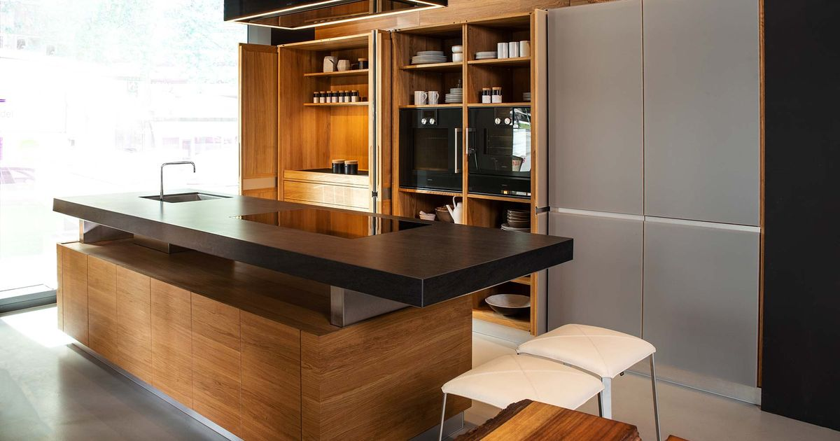 Showroom Exhibition Of Solid Wood Furniture For All Living Areas