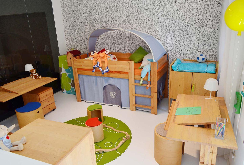 mobile Kinderzimmermöbel bei TEAM 7 München