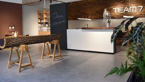 Empfangsbereich im TEAM 7 Store Stuttgart
