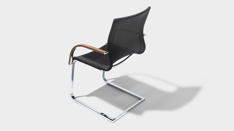Chaise de salle à manger magnum Stricktex avec accoudoirs
