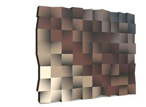 Различные цветовые оттенки стеклянных поверхностей