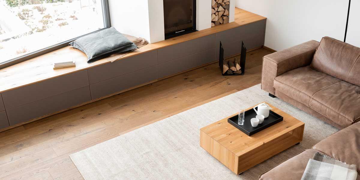 filigno Wohnwand mit c3 Couchtisch von TEAM 7 Linz
