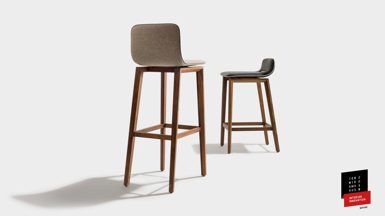 Design award for the TEAM 7 ark bar stool - interior innovation award 2016