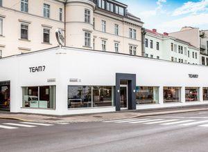 Store Außenansicht von TEAM 7 Linz