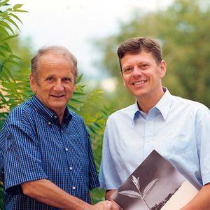 Erwin Berghammer und Georg Emprechtinger