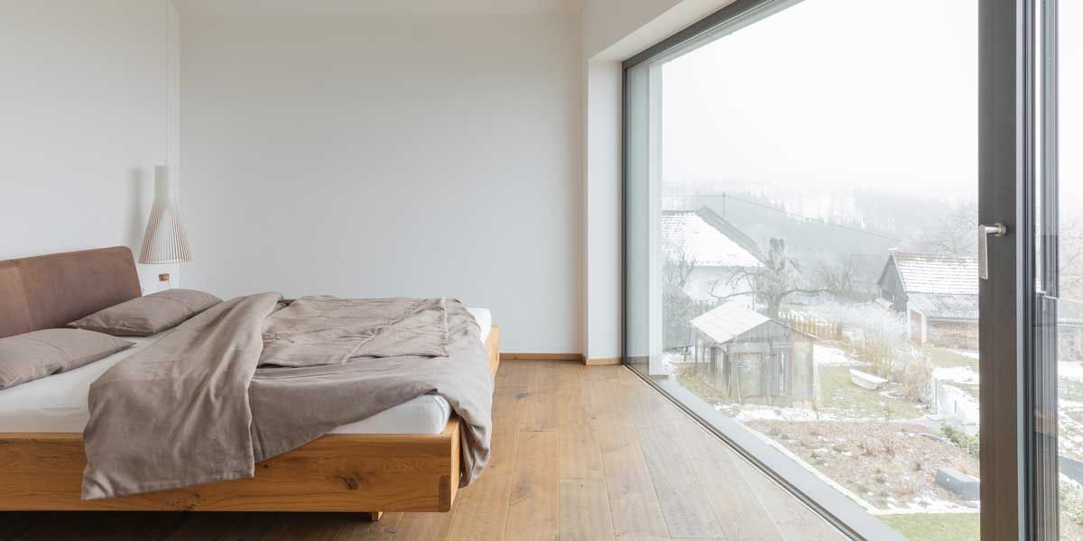 nox Bett in Eiche von TEAM 7 Linz