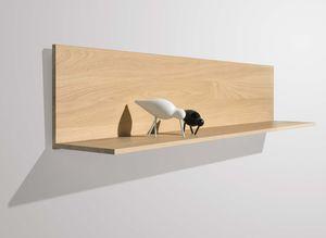 L-shelf optionally also with LED lighting