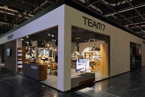Wohnen und Interieur Messe Wien TEAM 7
